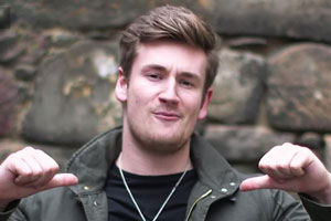 Oli White, copresenter of McDonald's YouTube channel Channel Us