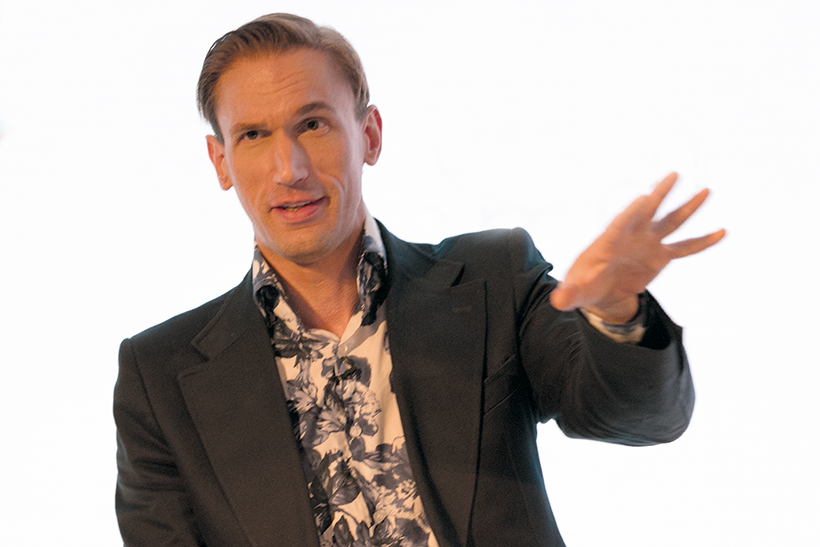 Dr Christian Jessen from the W channel