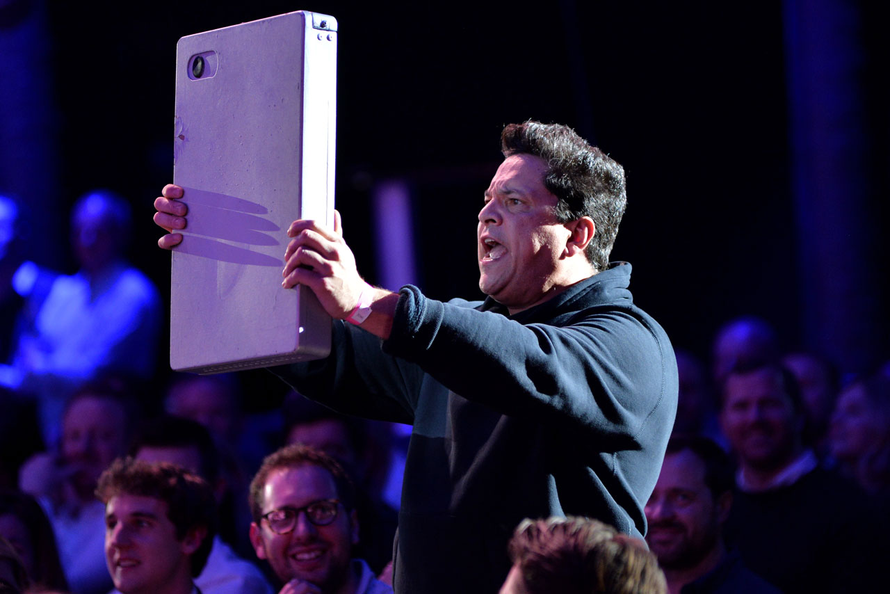 Dom Joly at Channel 4 Upfronts