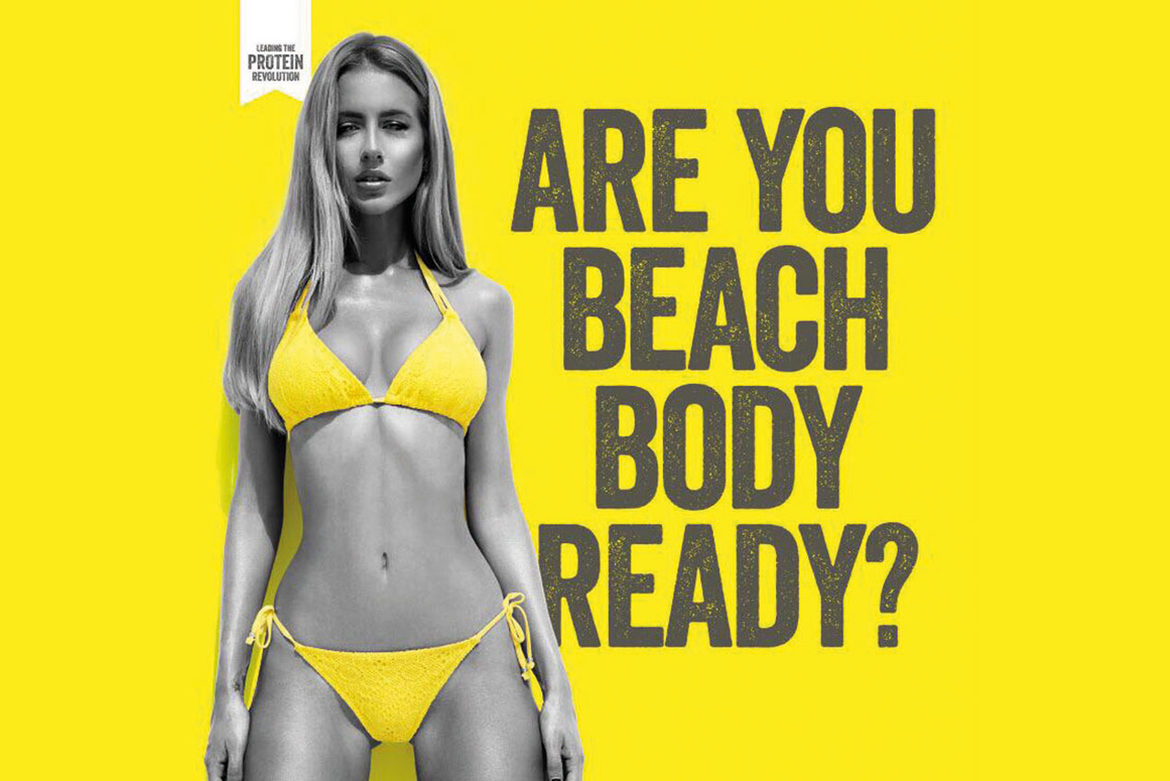 Protein World: ad sparked outrage online