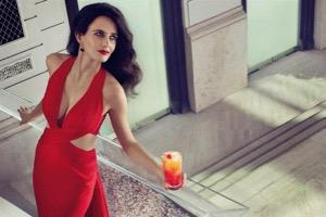 Eva Green in a shoot for the 2015 Campari calendar