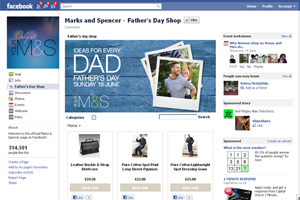 Marks and Spencer's Father's Day Shop