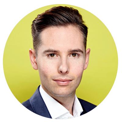 Giles Gordon, global brand director, John Frieda haircare