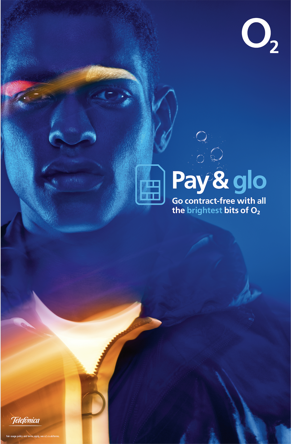 Pay & glo: ad highlights the perks of O2's pay and go service