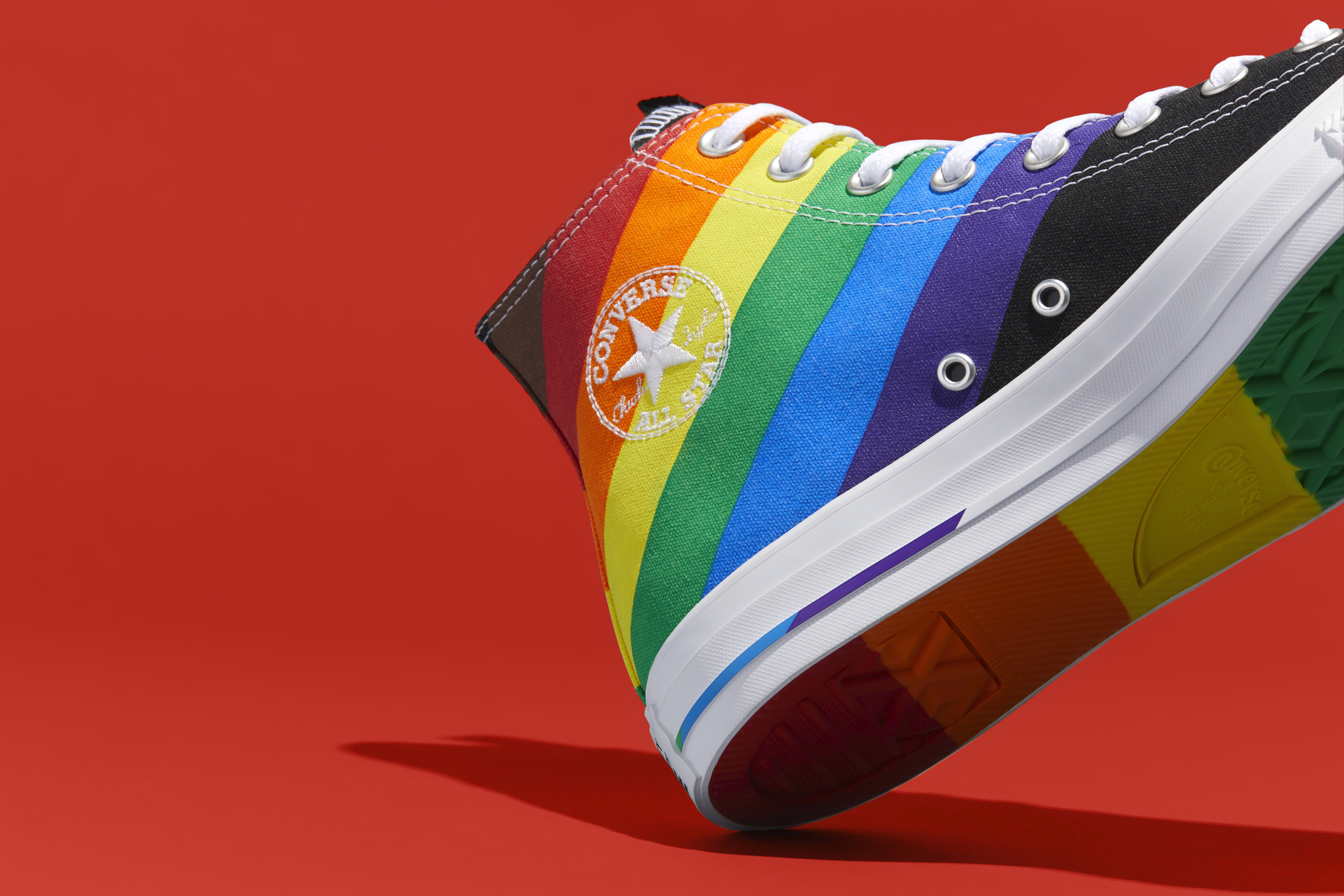 Pride: Converse has launched love-centric hi-tops