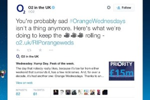 O2 Orange Wednesdays
