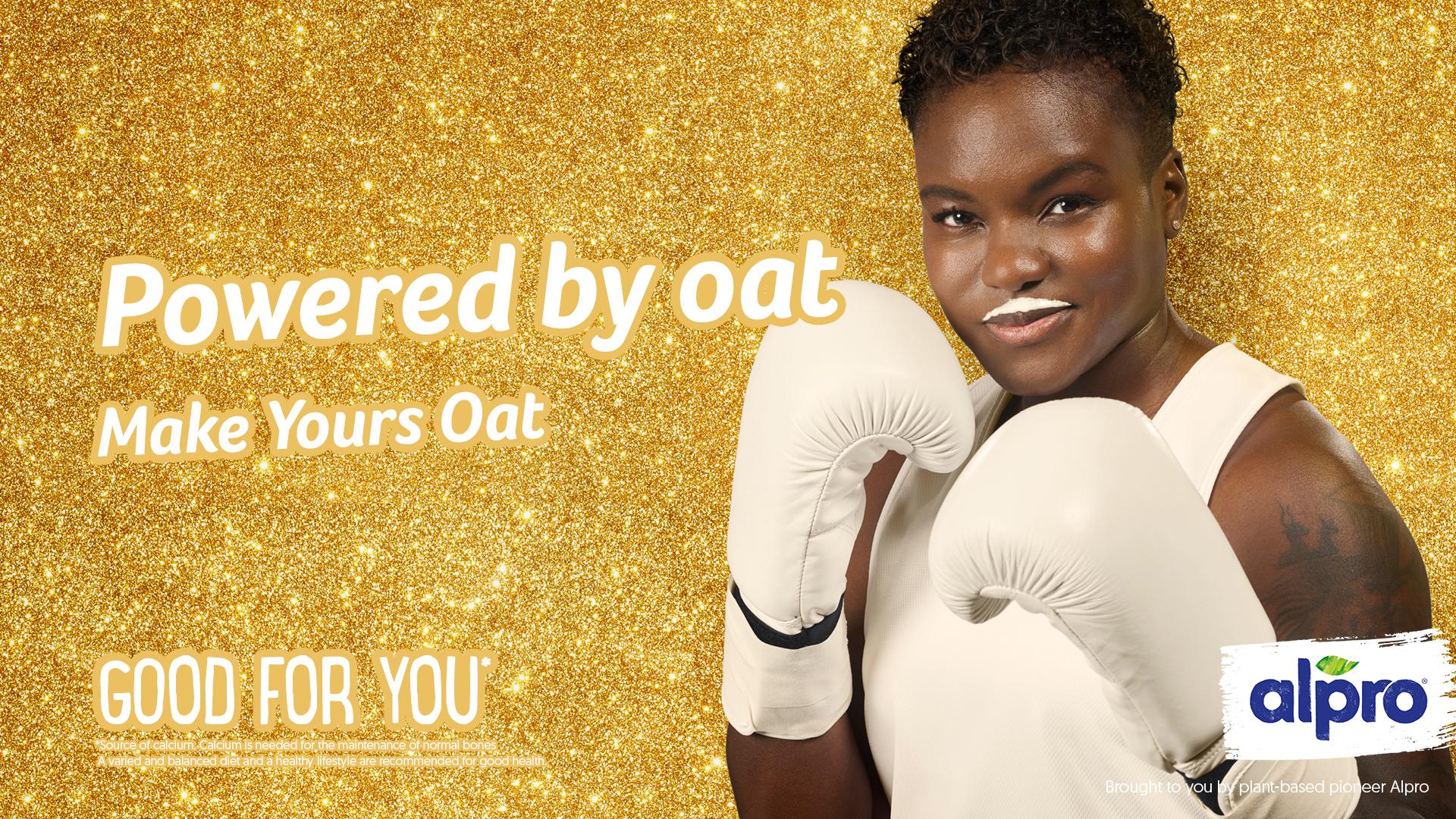 Nicola Adams: boxer joined 'Make mine milk' campaign in 2011