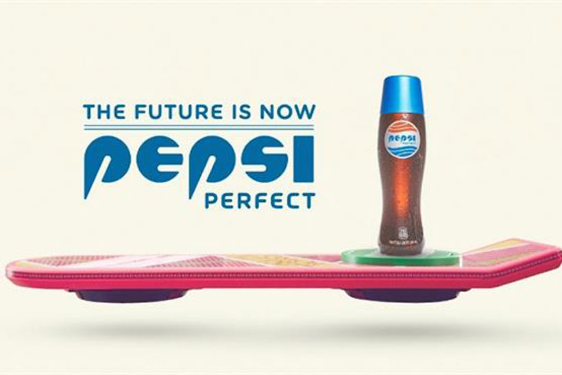 Pepsi on Back to the Future Day