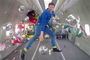 One million shares for OK Go's 'zero gravity' music video