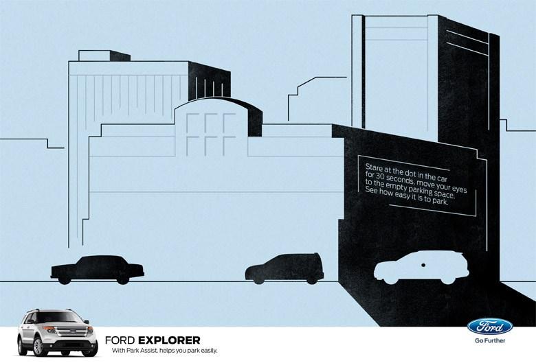Ford Explorer SUV ad