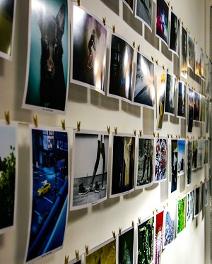 Finalist Images Displayed at Major Players Office