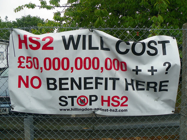HS2 continues to divide opinion, with many opposed to the scheme