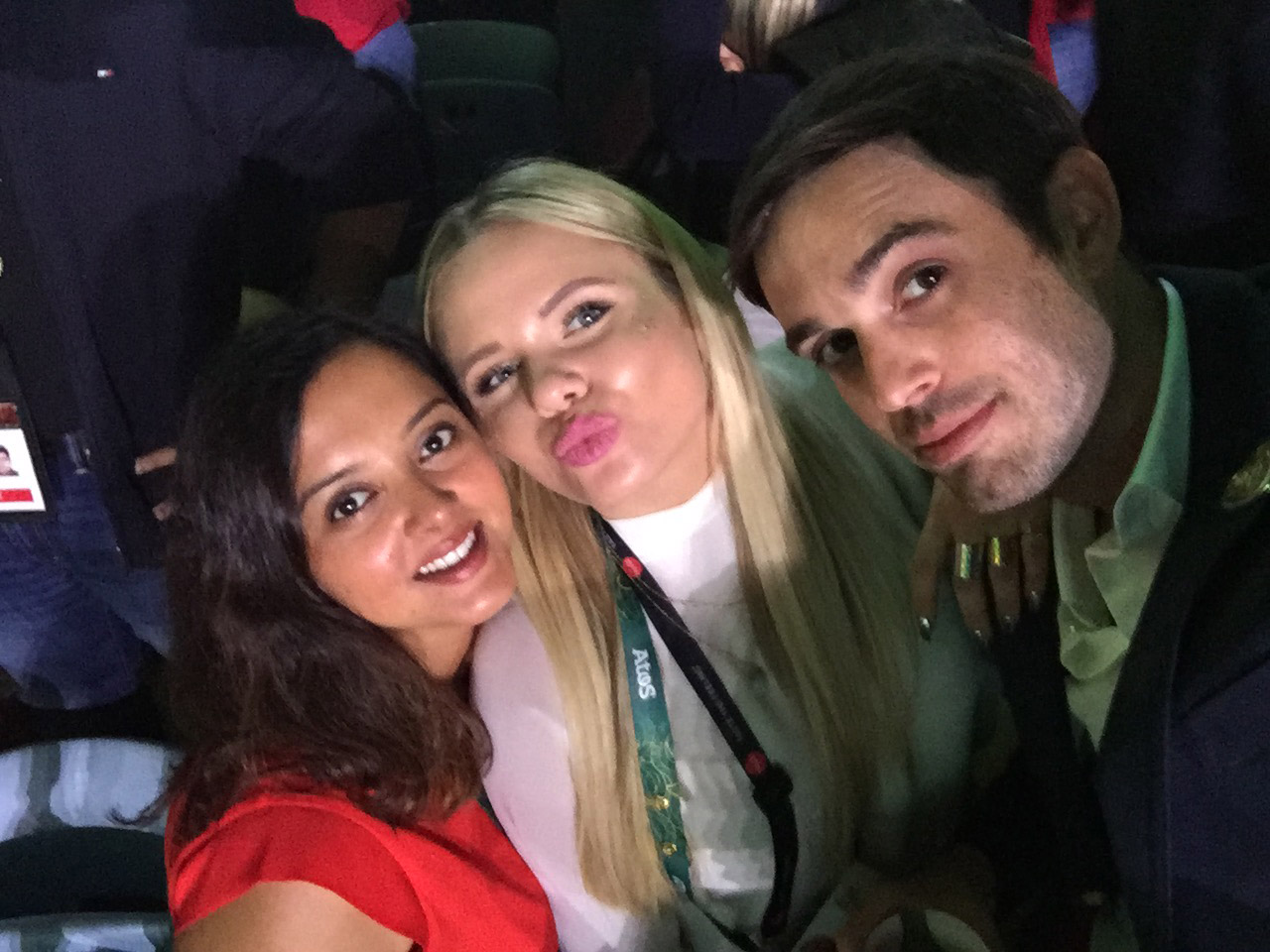 Aarti Parekh at Rio Olympics Opening Ceremony