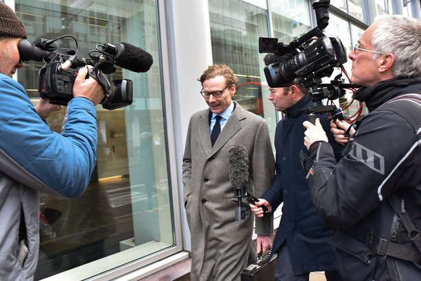 Cambridge Analytica boss Alexander Nix