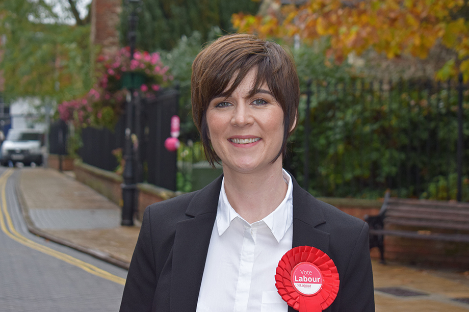 Tina McKay, Labour candidate for Colchester
