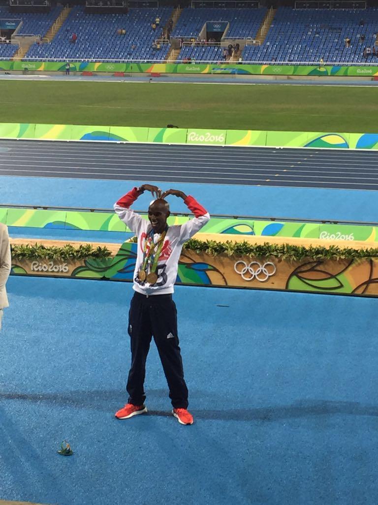 Mo Farah, Rio 2016