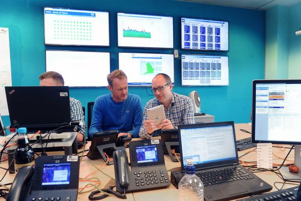 The NHS Digital Spine centre in Leeds