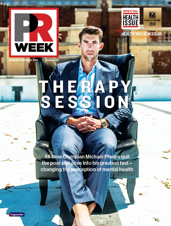 image of the PRWeek November December 2019 issue cover