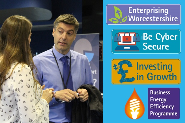 Worcestershire County Council is promoting its business events