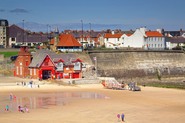 The council sought to pinpint the area's highlights, Cullercoats Bay