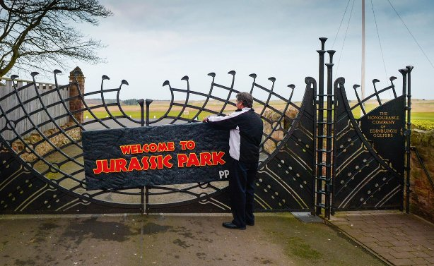 Paddy Power Welcome to Jurassic Park Muirfield Golf Club