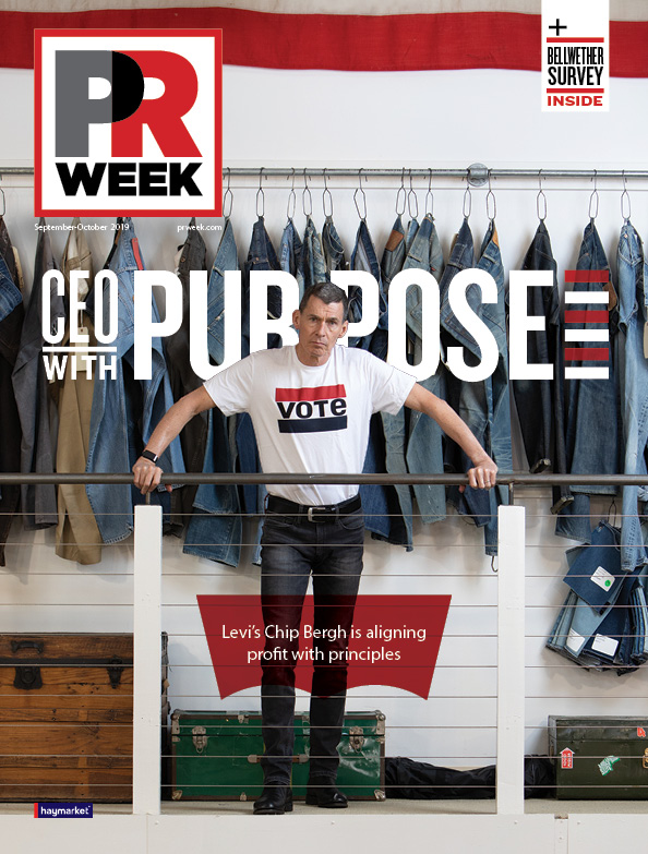 cover of the September/October 2019 PR Week edition