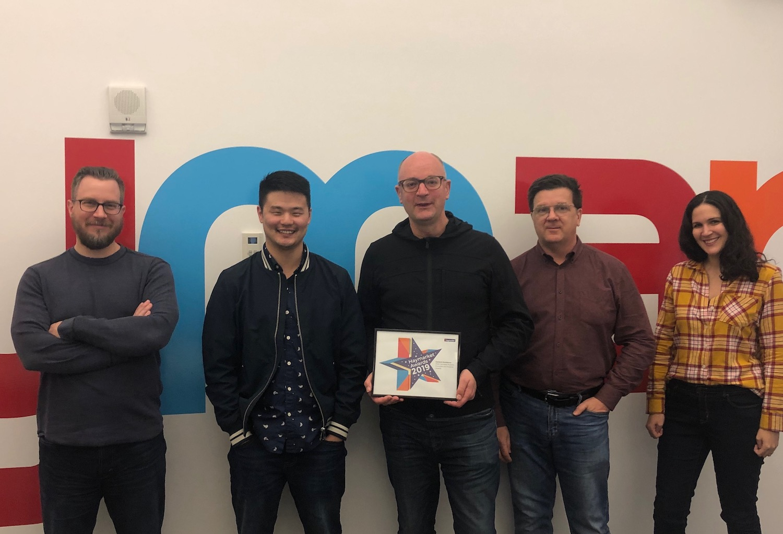 the PRWeek team wins at the Haymarket Awards