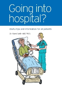 Dr Seth's book: Going into Hospital?