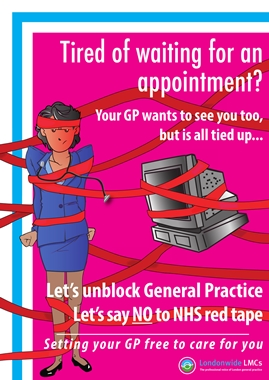 Londonwide LMCs 'GP Resilience' poster