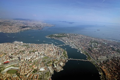 The Bosphorus Straits, AFP/Getty Images