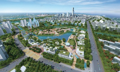 Tianjin Eco-City, Mot McDonald