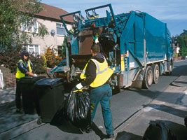 Roadside waste collections (courtesy of Recycle Now)