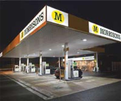 LED-lit stations: a big energy saver, courtsey of Morrisons