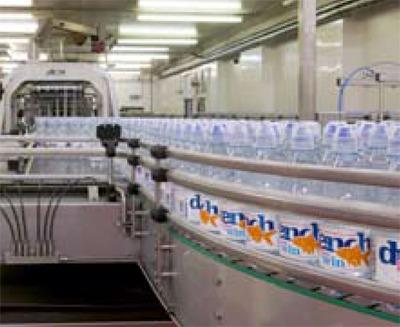 Britvic's bottling plant, Huddersfield