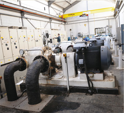 Pumps account for 80% of South West Water's energy use
