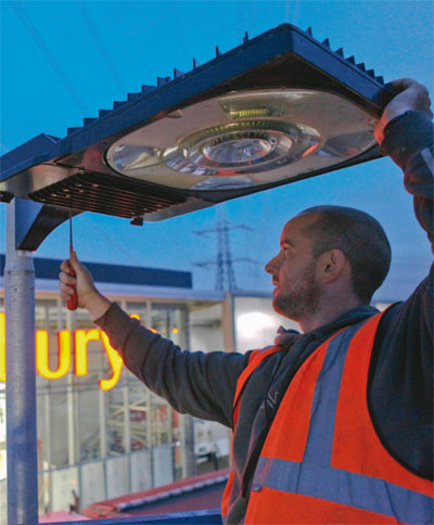 High-cost investment in energy-saving technology delivers 30% of demand at Sainsbury's store in Crayford, Kent. Photo courtesy of Sainsbury's