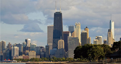Trading at the Chicago Climate Exchange fell by one third in 2009