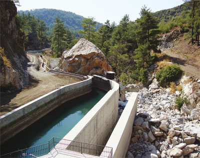 Turkey is developing renewables capacity such as hydropower