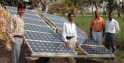 The CarbonNeutral Company's Selco solar power project in India
