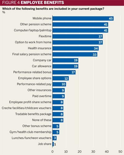 Figure 4: Employee benefits