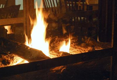 Fireplace. CCASA3