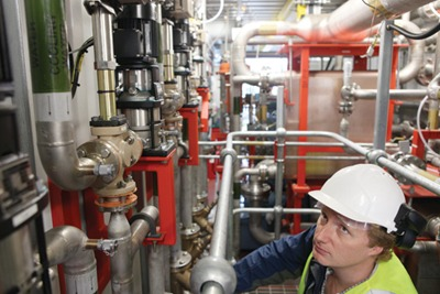 Highview's cryogenic storage device at the Slough Heat and Power biomass power plant was commissioned in March (credit: Highview)