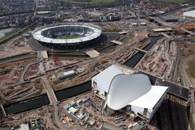 London Olympics stadium (credit: LOCOG)