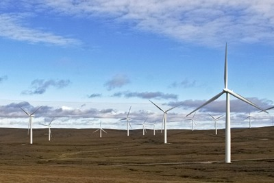 RWE's Farr wind farm in Scotland was paid to cut output in April. RWE expects this to happen again in future. (credit:RWE Npower/Normal Childs)