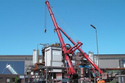 Tata's HIsarna blas furnace could emit 80% less CO2 (credit: Tata Steel)