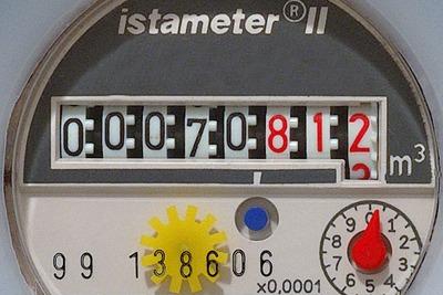 Water meter (credit: Georg Wiora CCA-SA 2.5)
