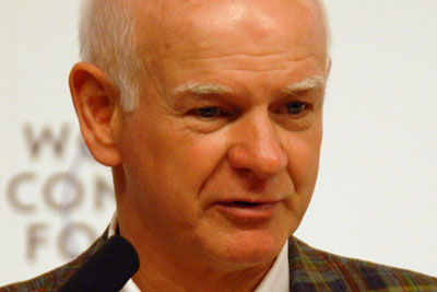 Sir Howard Davies is to lead an inquiry into UK aviation policy (photograph: World Economic Forum)