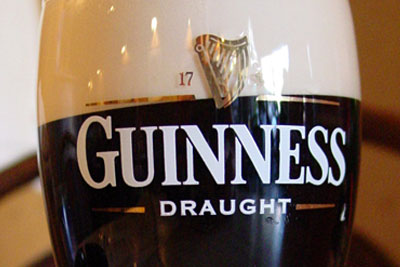 Guinness maker Diageo has been penalised for forgetting to report is EU ETS greenhouse gas emissions (photograph: Dirk Van Esbroeck, CC by SA 3.0)