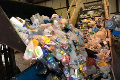 Recycling. Credit: Jeff Morgan, Alamy