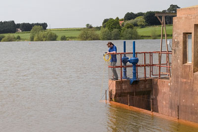 Wessex Water had reduced pesticide levels in Durleigh reserviour (photogaph: Wessex Water)